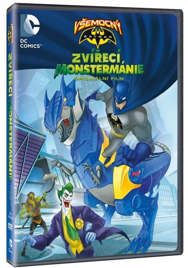 Všemocný Batman: Zvířecí Monstermánie (DVD)