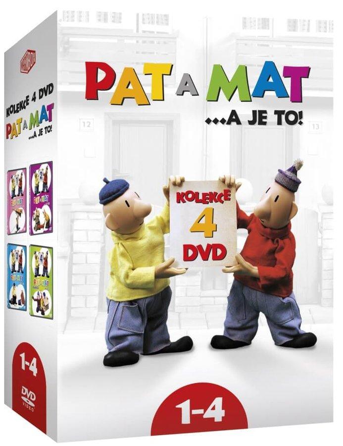 Pat a Mat 1-4 - kolekce (4xDVD)