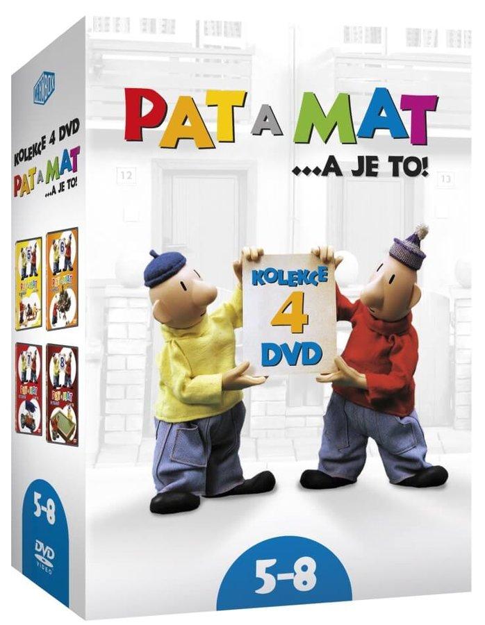 Pat a Mat 5-8 - kolekce (4xDVD)
