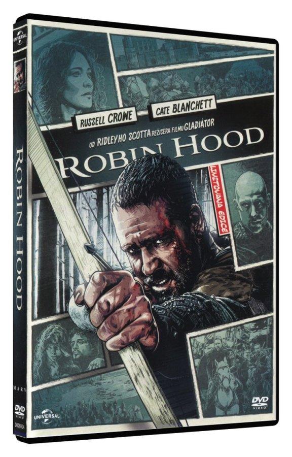 Robin Hood - 1xDVD (DVD) - režisérská verze - komiksová edice