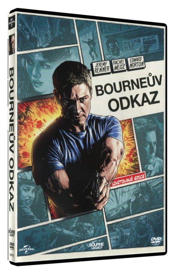 Bourneův odkaz (DVD) - komiksová edice