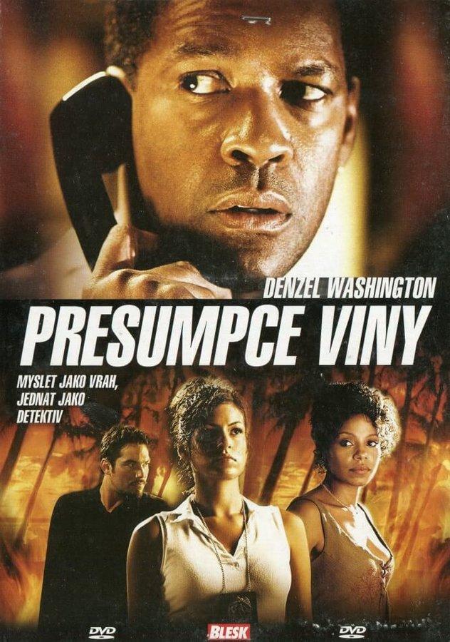 Presumpce viny (DVD) (papírový obal)