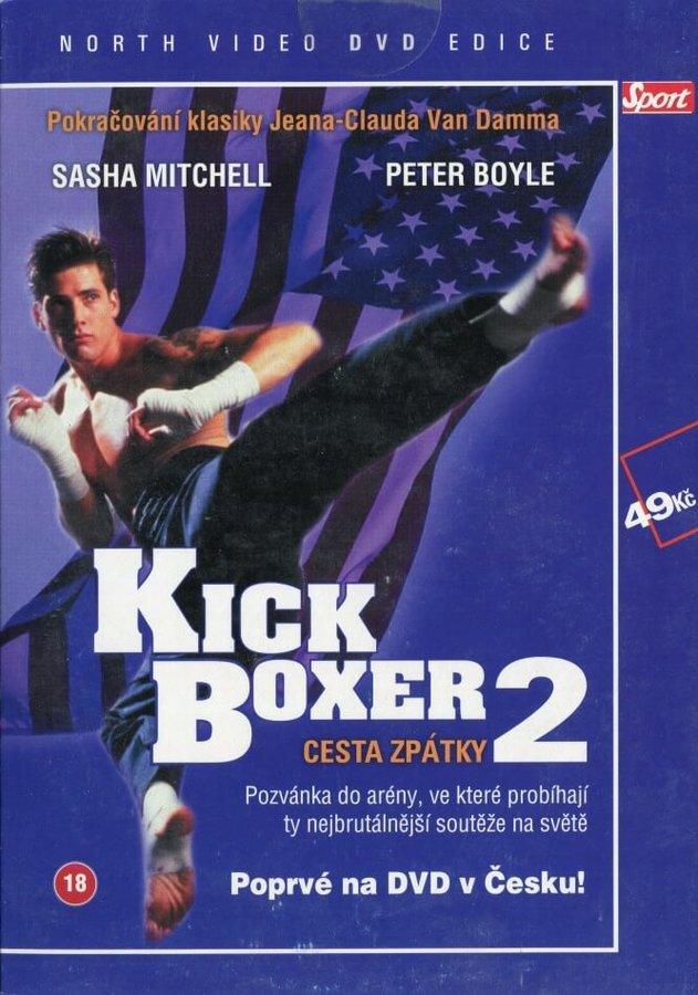Kickboxer 2 - Cesta zpátky (DVD) (papírový obal)