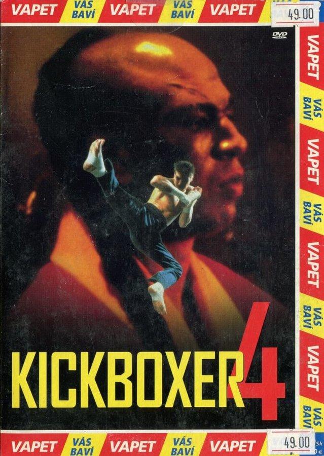 Kickboxer 4: Agresor (DVD) (papírový obal)