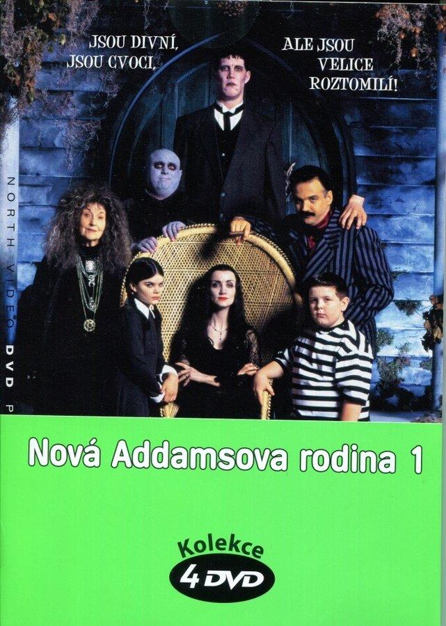 Nová Addamsova rodina 1 - kolekce (4xDVD) (papírový obal)