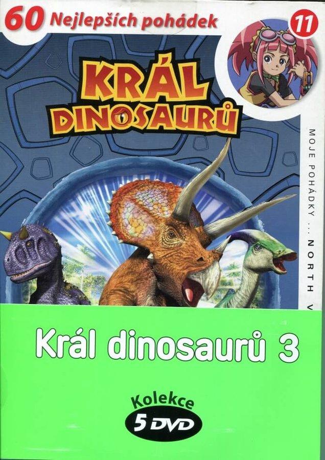 Král dinosaurů 3 - kolekce (5xDVD) (papírový obal)