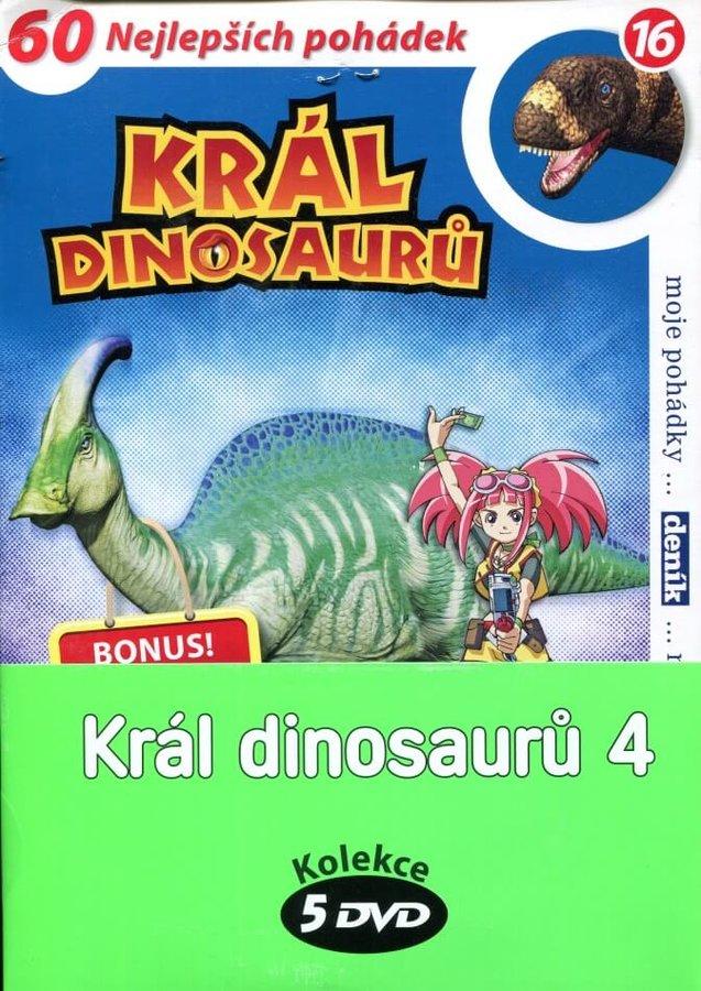 Král dinosaurů 4 - kolekce (5xDVD) (papírový obal)