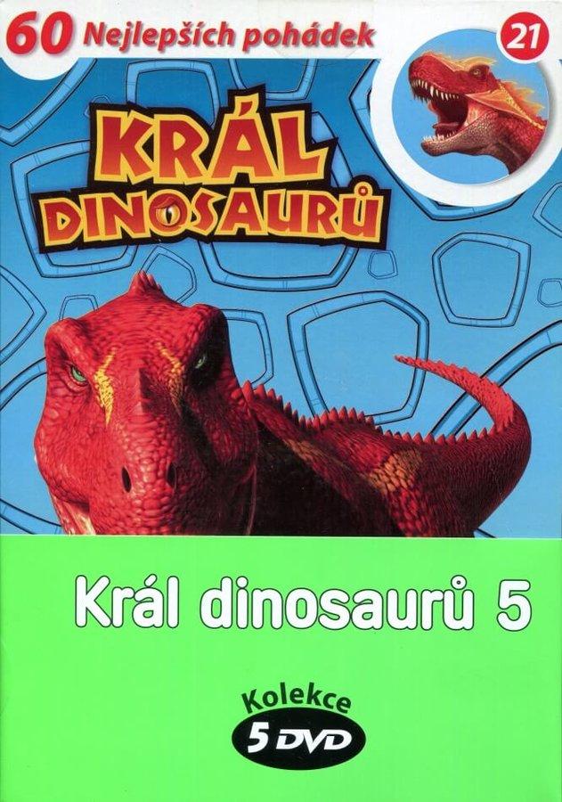 Král dinosaurů 5 - kolekce (5xDVD) (papírový obal)