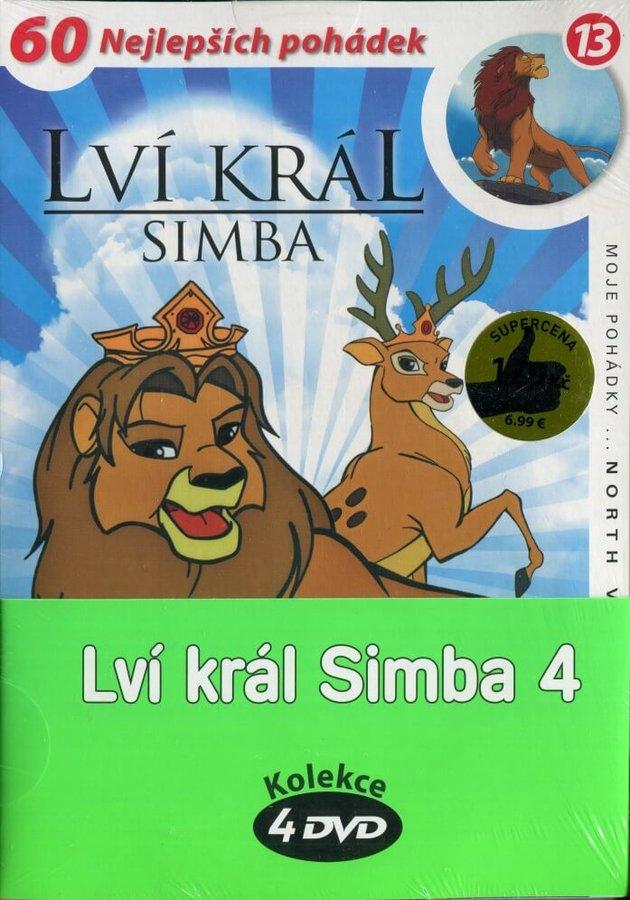 Lví král Simba 4 - kolekce (4xDVD) (papírový obal)