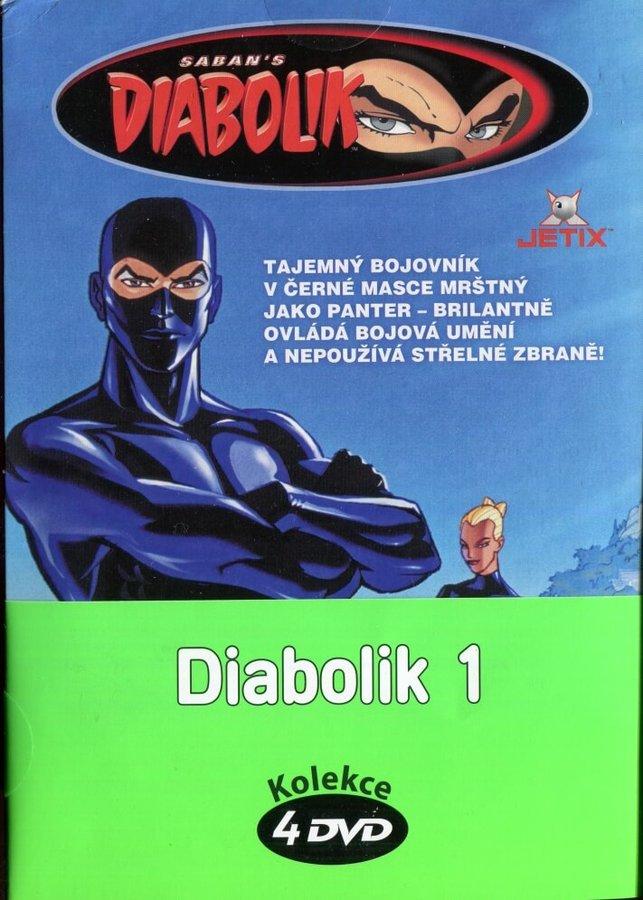 Diabolik 1 - kolekce (4xDVD) (papírový obal)