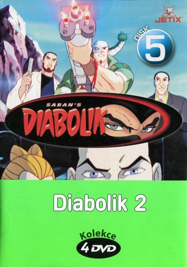 Diabolik 2 - kolekce (4xDVD) (papírový obal)