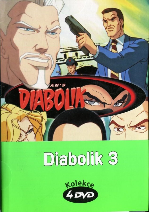 Diabolik 3 - kolekce (4xDVD) (papírový obal)