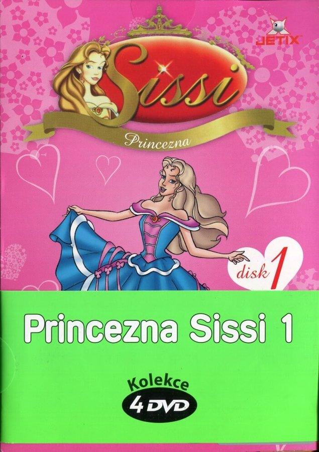 Princezna Sissi 1 - kolekce (4xDVD) (papírový obal)