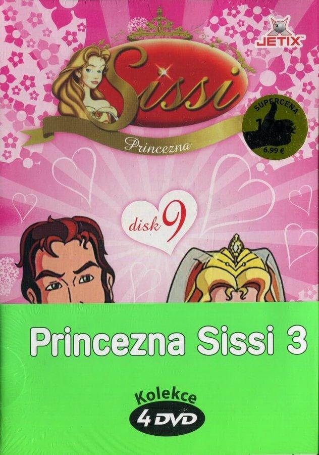 Princezna Sissi 3 - kolekce (4xDVD) (papírový obal)