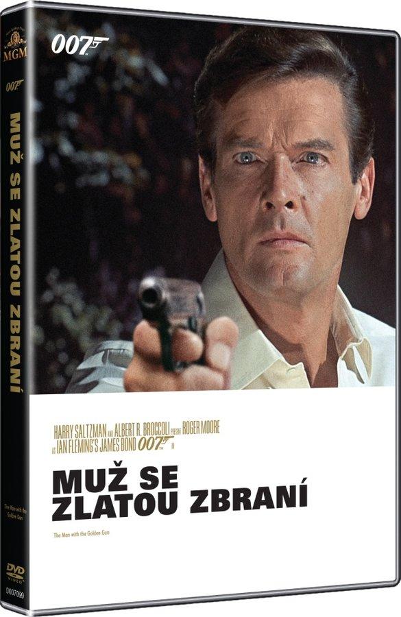 Muž se zlatou zbraní (DVD)