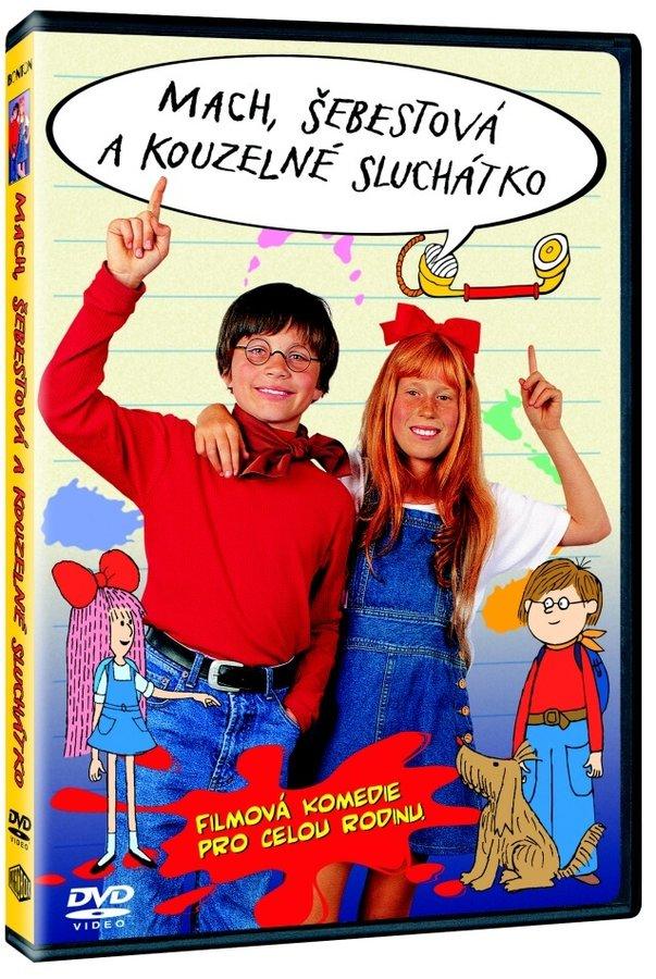 Mach, Šebestová a kouzelné sluchátko (DVD)