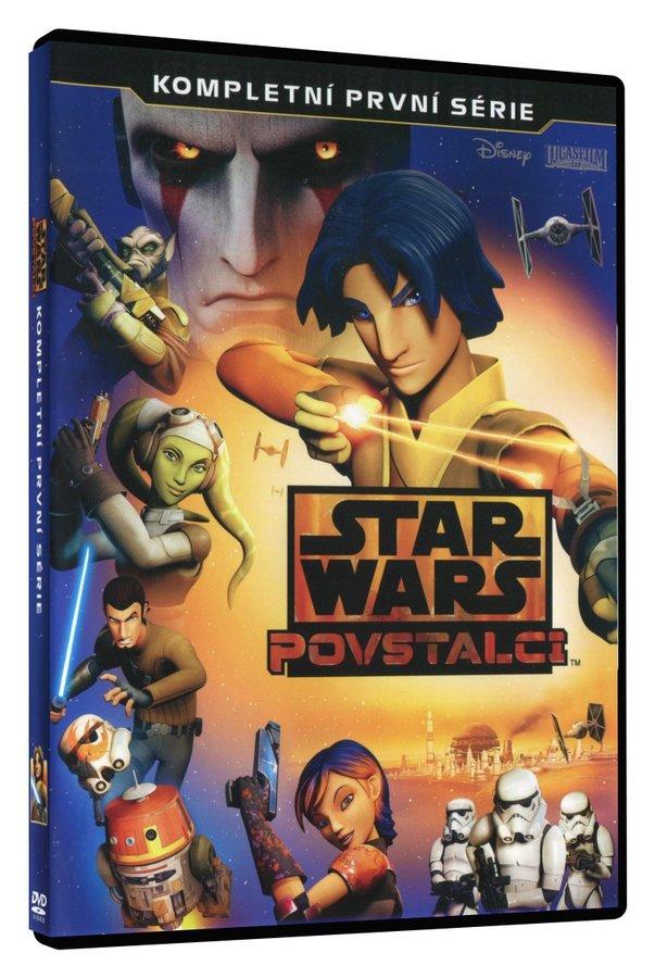 Star Wars: Povstalci - 1. série (3xDVD)