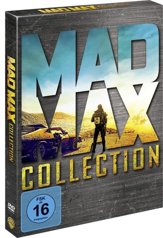 Šílený Max Antologie (4xDVD + DVD bonus)