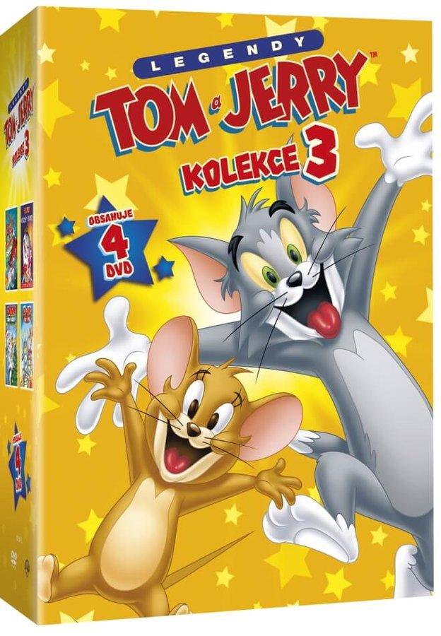 Tom a Jerry - kolekce 3 (4xDVD)