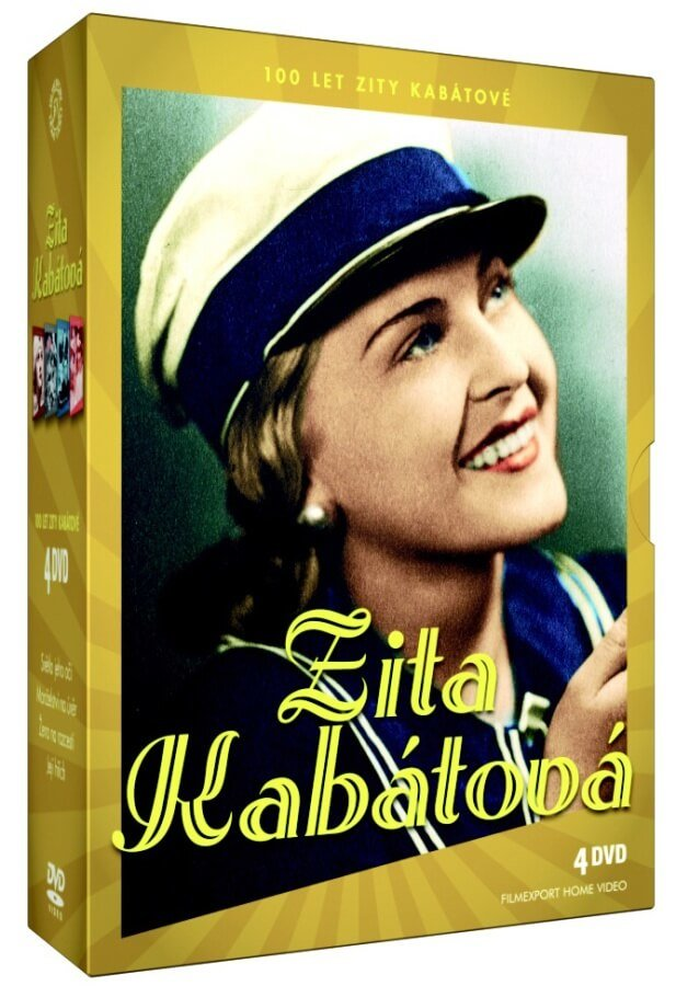 Zita Kabátová slaví 100 let - kolekce 4xDVD