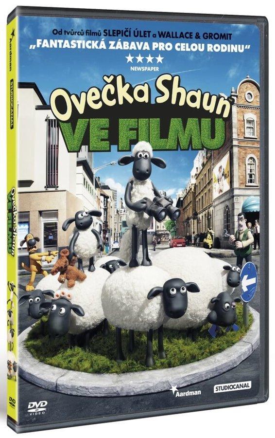 Ovečka Shaun ve filmu (DVD)