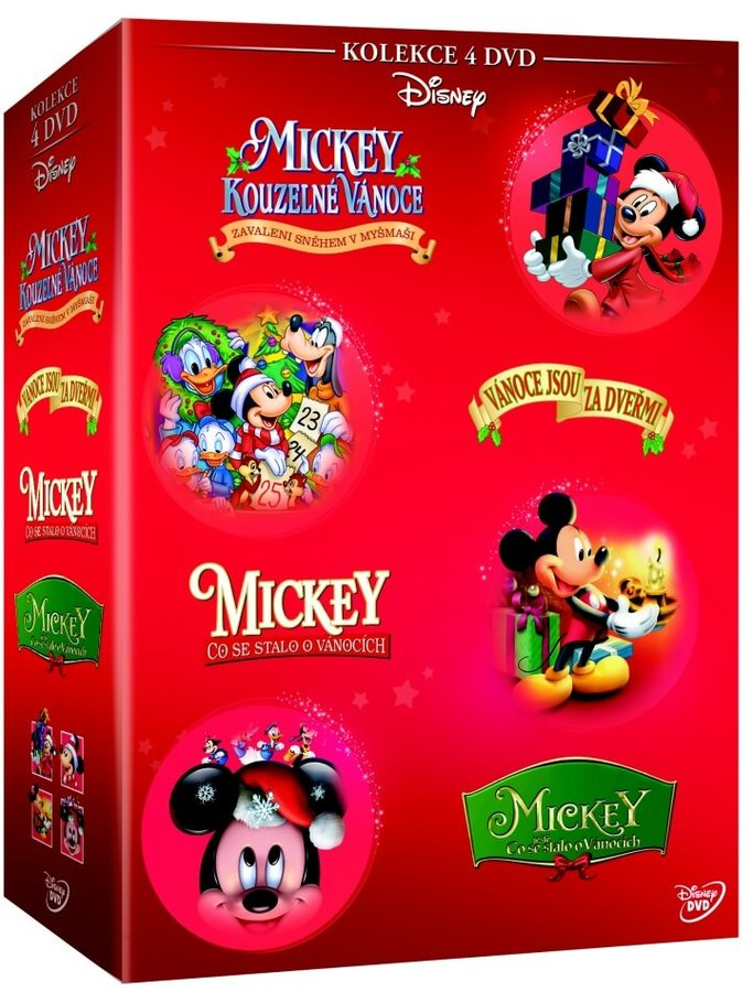 Vánoční Mickey kolekce (4xDVD)