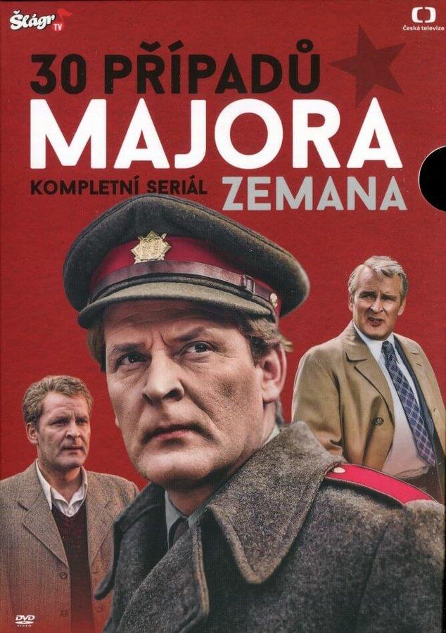 30 případů majora Zemana - KOMPLET - 30xDVD