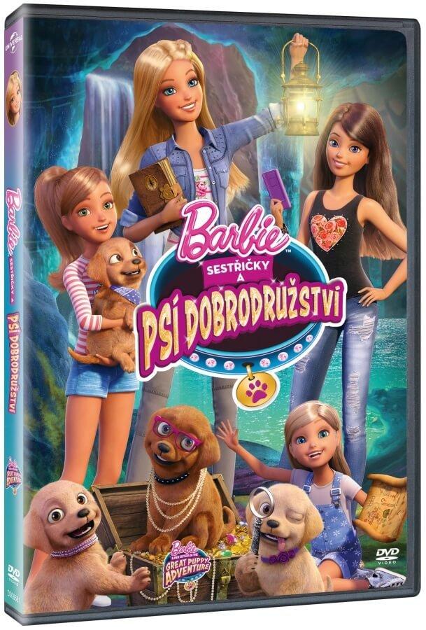 Barbie: Psí dobrodružství (DVD)