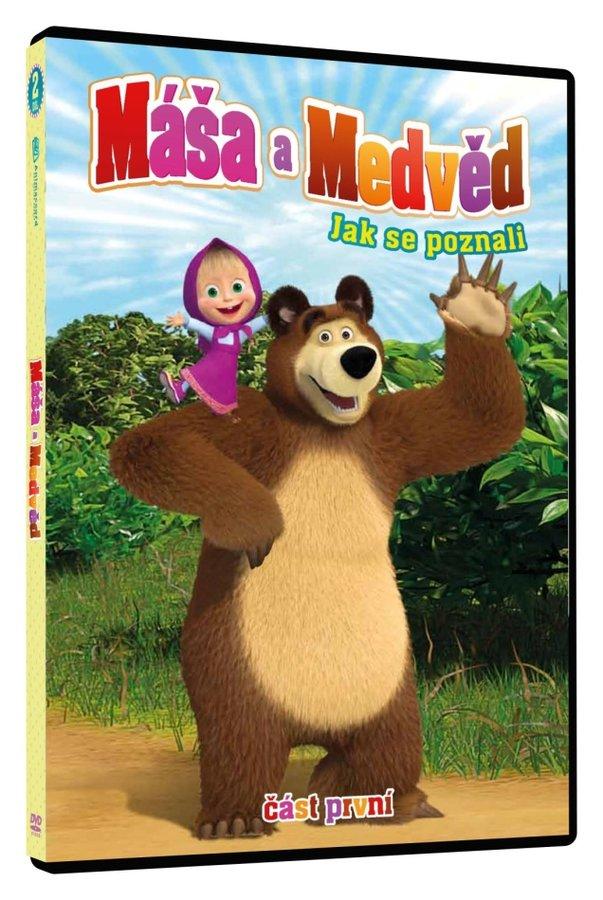 Máša a medvěd 1 - Jak se poznali (DVD)