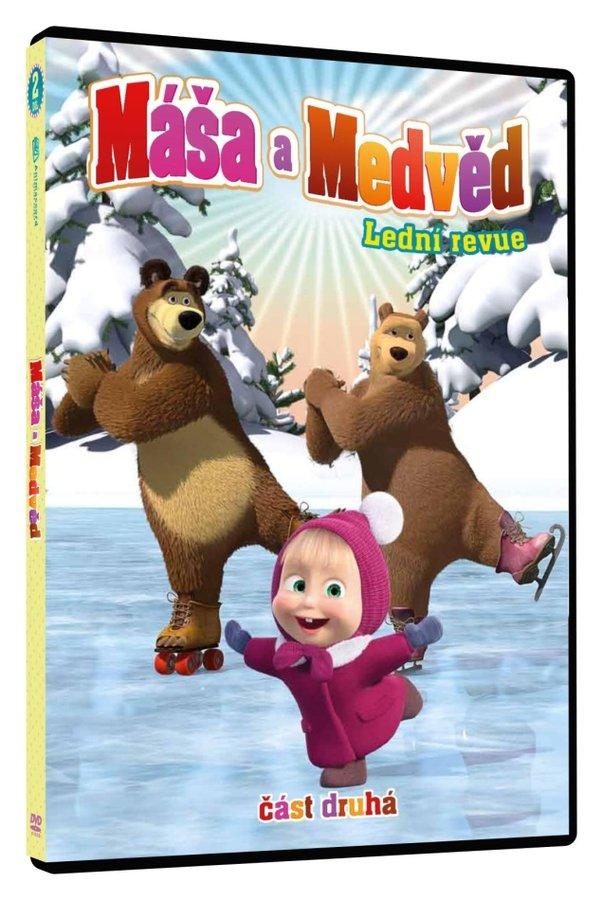 Máša a medvěd 2 - Lední revue (DVD)