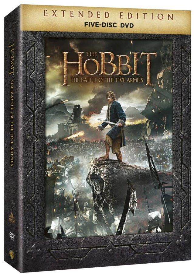 Hobit: Bitva pěti armád (5xDVD) - prodloužená verze