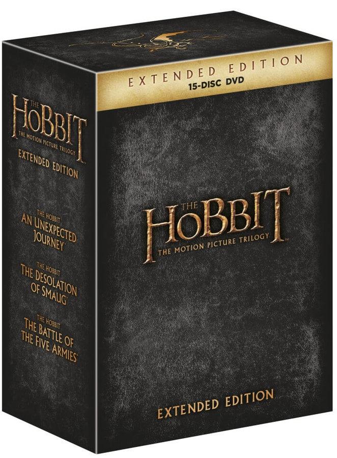 Hobit kolekce 1-3 - 15xDVD - prodloužená verze