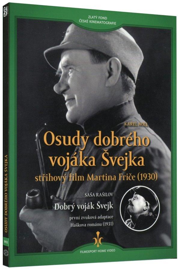 Osudy dobrého vojáka Švejka (1930) + Dobrý voják Švejk (1931) (DVD) - digipack