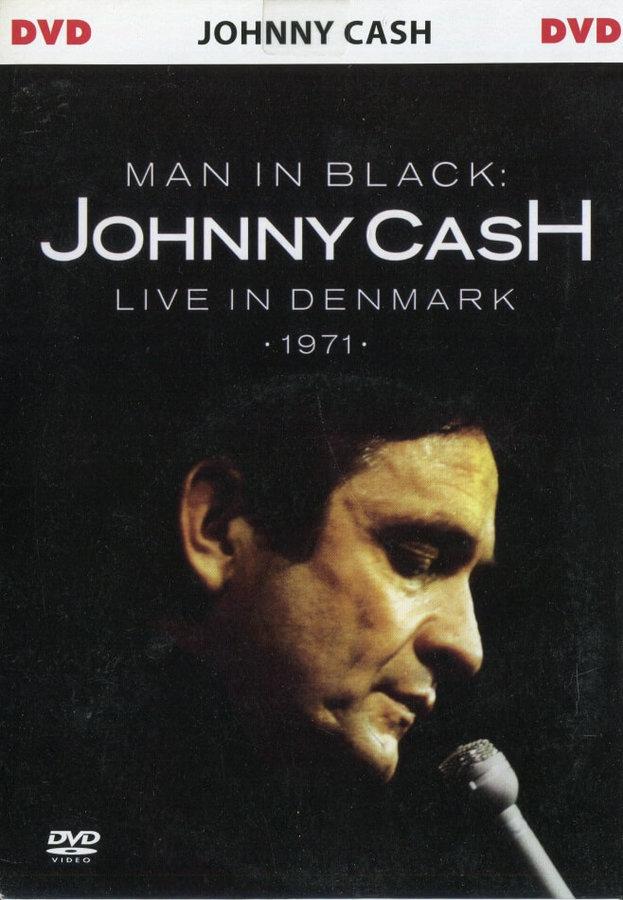 Johnny Cash - Live in Denmark (1971) (DVD) (papírový obal)