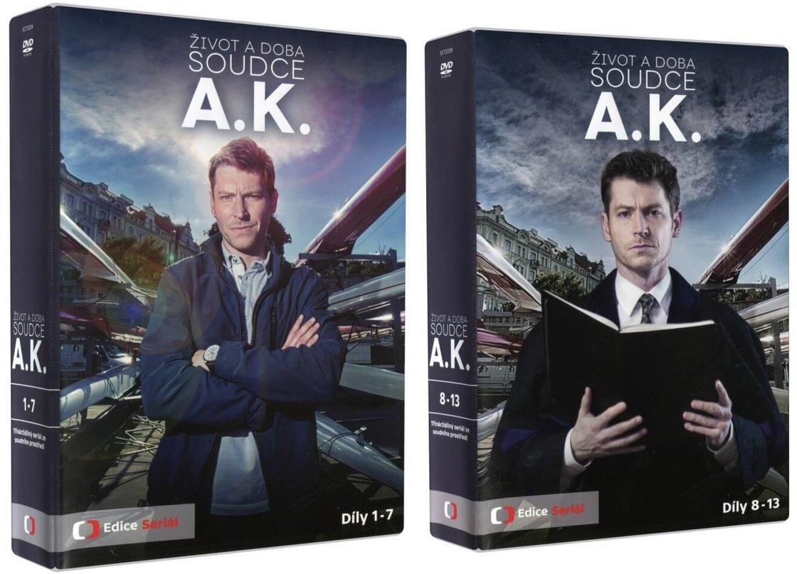 Život a doba soudce A. K. (13 DVD)