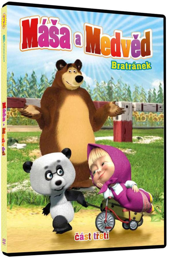 Máša a medvěd 3 - Bratránek (DVD)