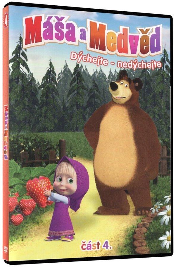 Máša a medvěd 4 - Dýchejte - nedýchejte (DVD)