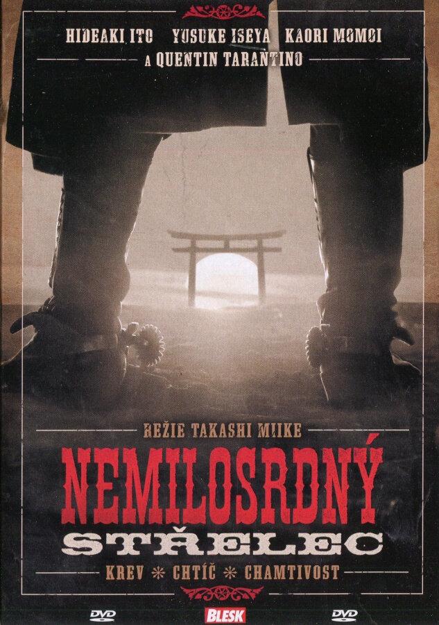 Nemilosrdný střelec (DVD) (papírový obal)