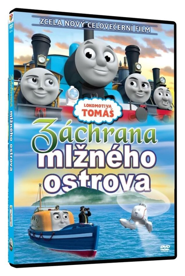 Lokomotiva Tomáš - Záchrana mlžného ostrova (DVD)