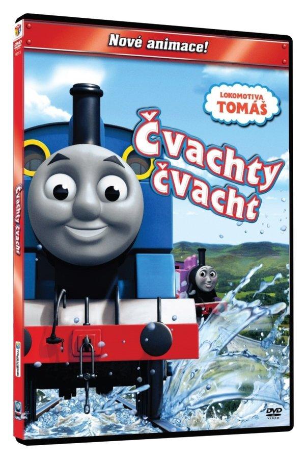 Lokomotiva Tomáš - Čvachty čvacht (DVD)