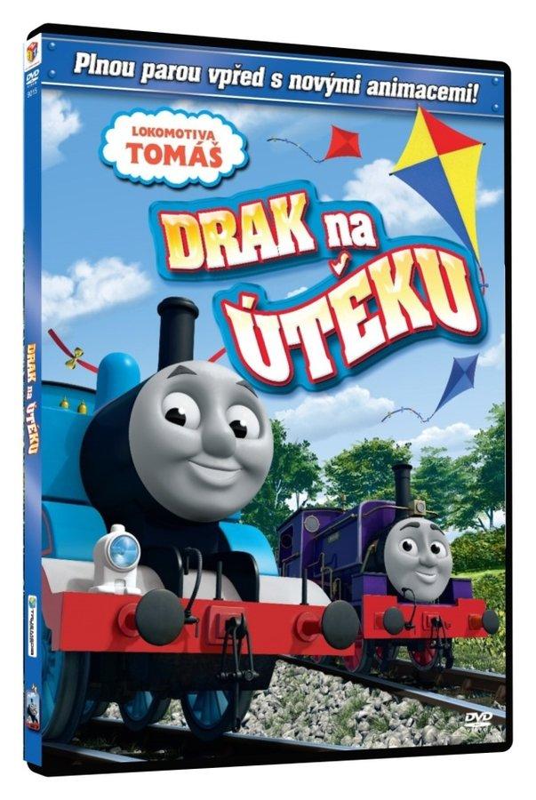 Lokomotiva Tomáš - Drak na útěku (DVD)