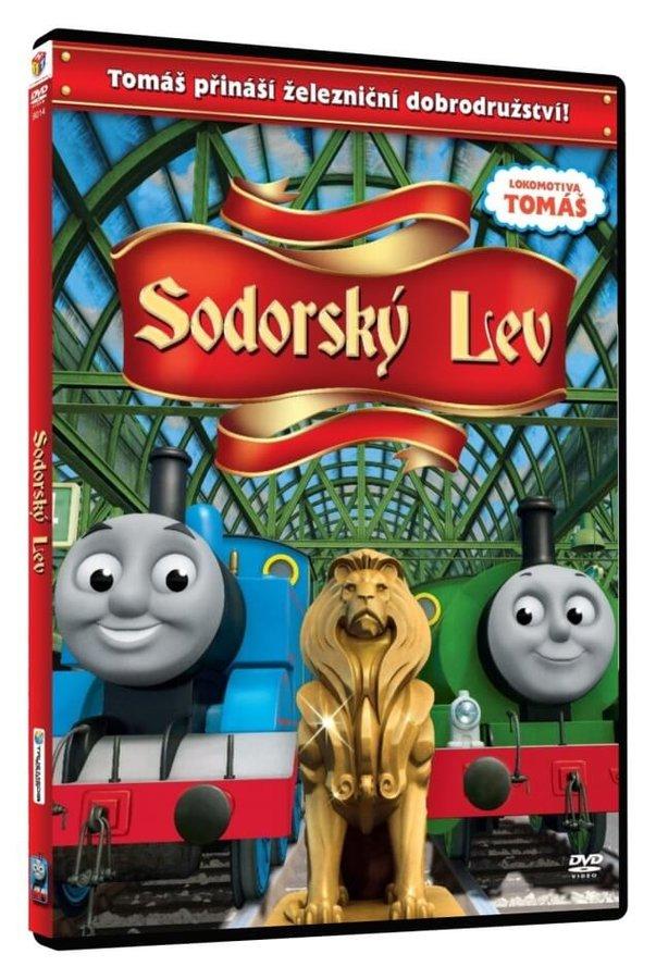 Lokomotiva Tomáš - Sodorský lev (DVD)