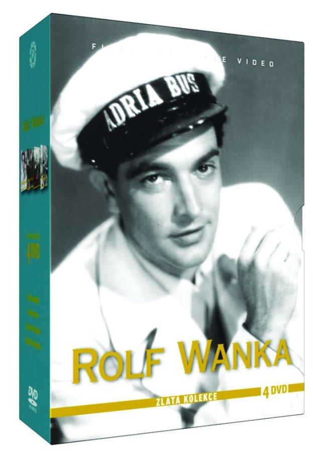 Rolf Wanka - kolekce - 4xDVD
