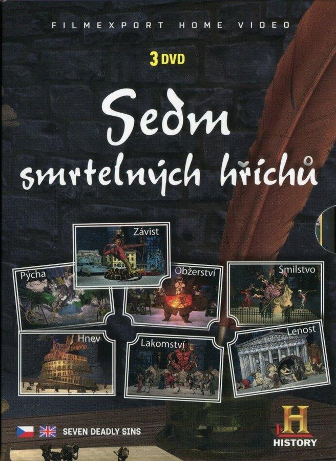 Sedm smrtelných hříchů - kolekce (3xDVD)