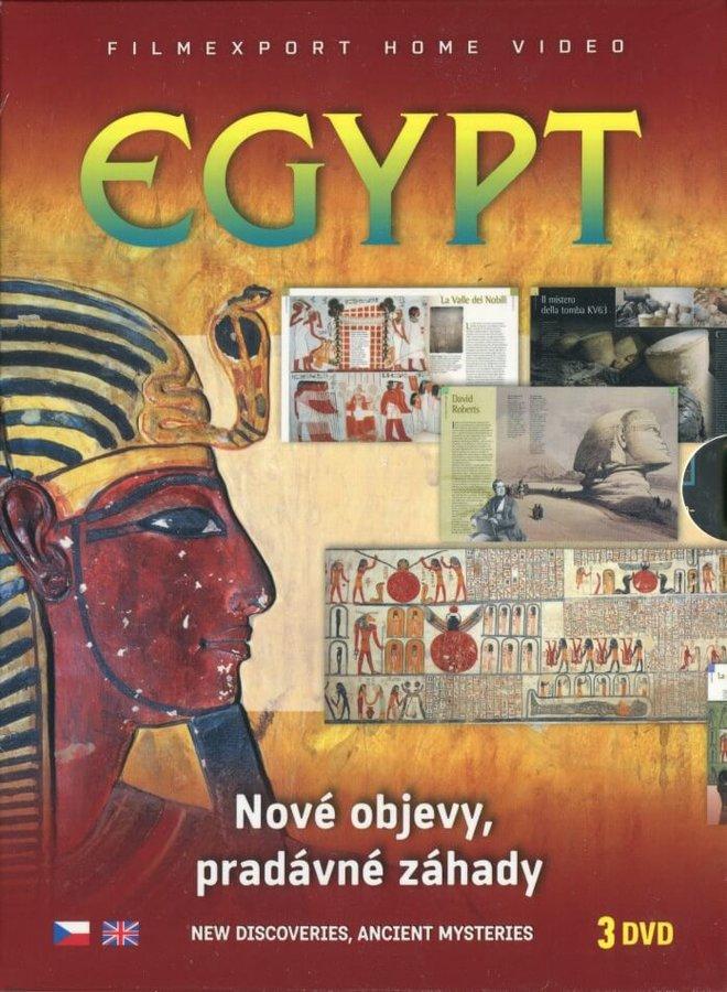 Egypt: Nové objevy, pradávné záhady - kolekce (3xDVD)