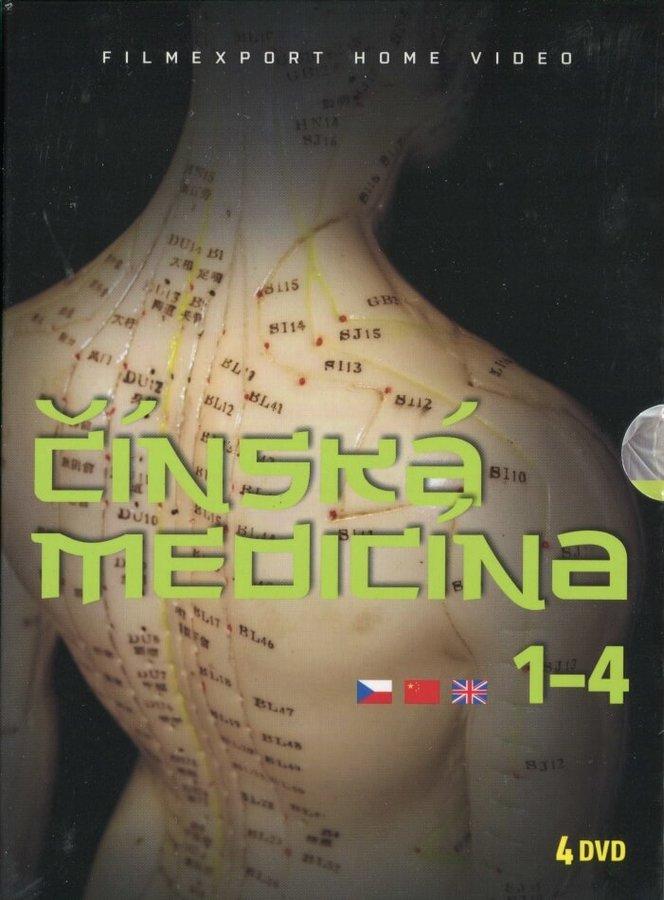 Čínská medicína - kolekce (4DVD)