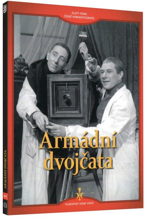Armádní dvojčata (DVD) - digipack