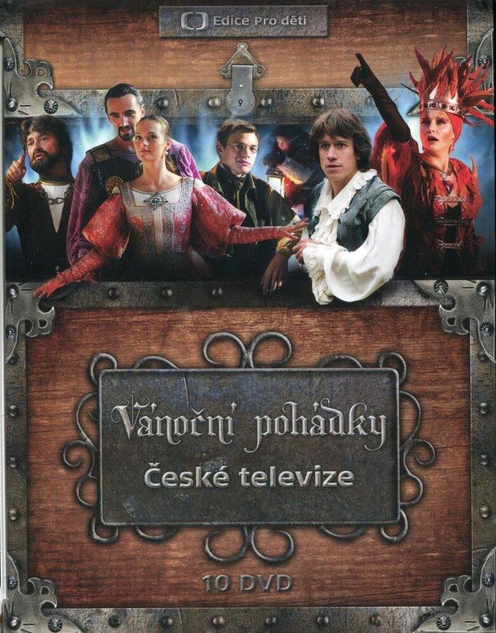 Vánoční pohádky České televize (10 DVD)