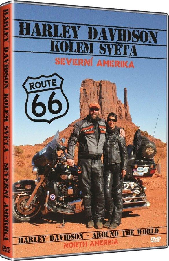 Harley Davidson kolem světa - Severní Amerika (DVD)