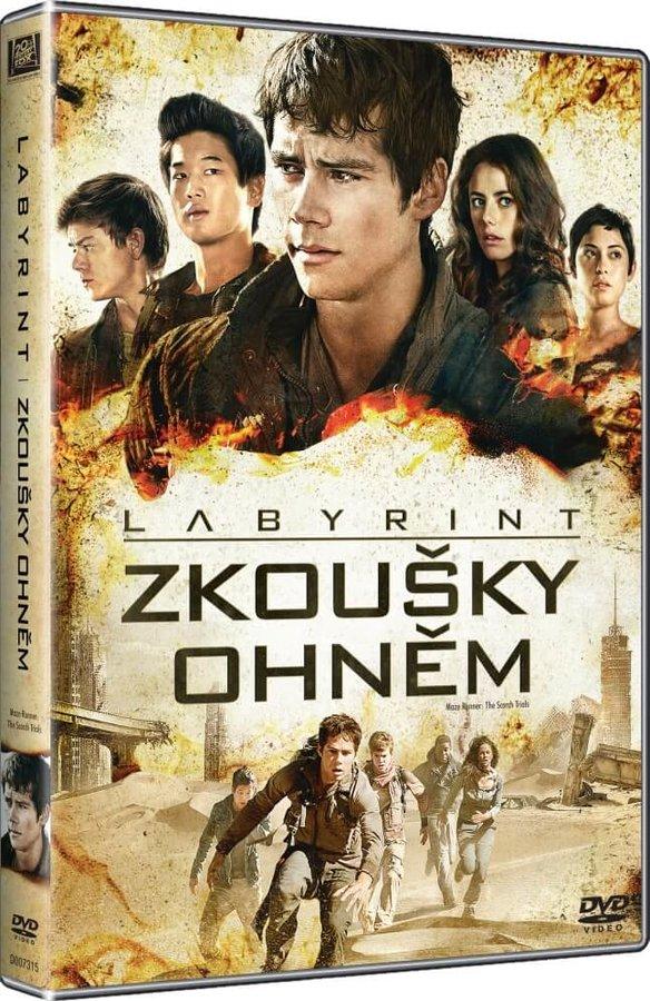Labyrint: Zkoušky ohněm (DVD)